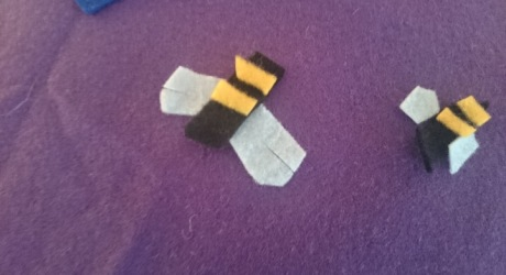 bees from the felt data map