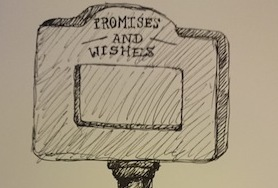 sketch of the promises and wishes machine